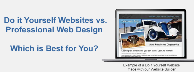 Do it yourself websites vs professional web design which is best do it yourself websites vs web professional which is best for you solutioingenieria Choice Image